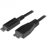 StarTech.com Cable USB 3.1 C Macho - Micro USB B Macho, 1 Metro, Negro