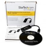 Startech.com Adaptador de Video Convertidor USB 3.0 Macho - VGA Hembra, 6cm, Negro