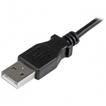 StarTech.com Cable Micro USB con Ángulo Derecho, 1 Metro, Negro