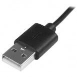 StarTech.com Cable Micro USB con LED Indicador de Carga, 1 Metro, Negro