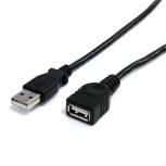 StarTech.com Cable de Extensión USB 2.0 A Macho - USB A Hembra, 1.8 Metros, Negro