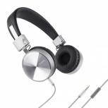 Steren Audífonos con Micrófono AUD-224,  Alámbrico, 1.20 Metros, 3.5mm, Plata