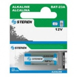 Steren Pila Desechable, 12V, Alcalino