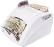 Steren Contadora de Billetes con Detector de Billetes Falsos BILL-100, Blanco