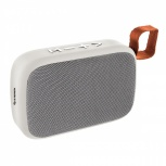 Steren Mini Bocina Portátil BOC-832, Bluetooth, Inalámbrico, 3W RMS, USB, Gris/Blanco
