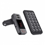 Steren Transmisor de Audio para Auto FMT-845, Bluetooth, Negro