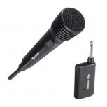 Steren Micrófono MIC-280, Inalámbrico, Negro