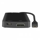 Steren Docking Station USB-474 USB-C, 3x USB 3.0, 1x HDMI, 1x MicroSD, Negro