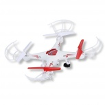 Drone Stylos YAK-130, 4 Rotores, 100 Metros, Naranja/Blanco