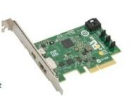 Supermicro Tarjeta PCI Express de 2 Puertos, 1x DisplayPort, 1x Thunderbolt