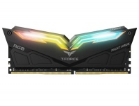 Memoria RAM Team Group Night Hawk RGB DDR4, 3000MHz, 16GB(2 x 8GB), Non-ECC, CL16, Negro