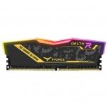 Kit Memoria RAM Team Group Delta TUF DDR4, 3200MHz, 16GB (2 x 8GB), Non-ECC, CL16, XMP