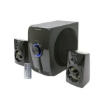 Techome Bocinas FS-P240, Bluetooth, Alámbrico/Inalámbrico, 25W RMS, Negro