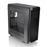 Gabinete Thermaltake V100 Window con Ventana RGB, Midi Tower, ATX, USB 2.0/3.0, sin Fuente, Negro