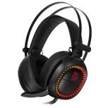 Tt eSPORTS Audífonos Gamer SHOCK PRO RGB, Alámbrico, 2 Metros, 3.5mm/USB, Negro