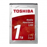 Disco Duro para Laptop Toshiba L200 2.5'', 1TB, SATA III, 6Gbit/s, 5400RPM, 128MB Cache