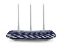 Router TP-Link Ethernet Firewall Archer C20 AC750 V4.0, Inalámbrico, 433Mbit/s, 5x RJ-45, 2.4/5GHz, 3 Antenas Externas