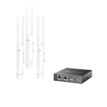 Access Point TP-Link con Sistema de Red Wi-Fi en Malla EAP225-OUTDOOR, 1200 Mbit/s, 1x RJ-45, 2.4/5GHz - 5 Piezas