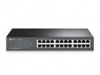 Switch TP-Link Fast Ethernet TL-SF1024D, 10/100Mbps, 4.8Gbit/s, 24 Puertos, 8000 Entradas – No Administrable