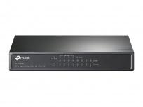 Switch TP-Link Gigabit Ethernet TL-SG1008P, 10/100/1000Mbps, 16Gbit/s, 8 Puertos, 8000 Entradas