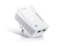 TP-LINK Extensor Powerline AV500 TL-WPA4220, Inalámbrico, 2x RJ-45, 300 Mbit/s