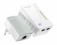 TP-Link Kit Extensor Powerline AV500 TL-WPA4220KIT, Inalámbrico, 2x RJ-45, 300 Mbit/s