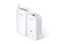 TP-Link Adaptador Powerline AV1200, 3x RJ-45, 1200 Mbit/s, Blanco