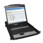 Tripp Lite Consola KVM IP NetDirector para Rack 1U, con Pantalla 19