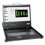Tripp Lite Consola para Rack 1U, incluye Teclado, Pantalla 19'' y Panel Táctil