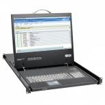 Tripp Lite Consola KVM para Rack 1U, con Pantalla 19