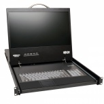 Tripp Lite Consola Multiplexor NetCommander KVM para Rack 19'', 16 Puertos