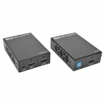 Tripp Lite Extensor de Video HDMI Inalámbrico por Cat5/6, 3x HDMI, 2x RJ-45, 61 Metros