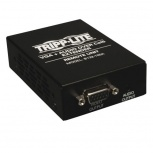 Tripp Lite Extensor VGA con Audio sobre Cat5/Cat6, Receptor Estilo Caja, hasta 304.8m, Negro
