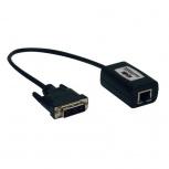 Tripp Lite Extensor Pasivo DVI sobre Cat5/Cat6, hasta 30.5m, Negro