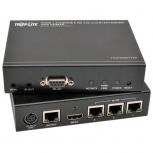 Tripp Lite Juego Extensor HDBaseT HDMI sobre Cat5e/6/6a, 2x HDMI, 100m