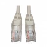 Tripp Lite Cable Patch Cat5e UTP Moldeado Sin Enganches RJ-45 Macho - RJ-45 Macho, 1.52 Metros, Blanco
