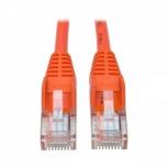 Tripp Lite Cable Patch Cat5e UTP Moldeado Sin Enganches RJ-45 Macho - RJ-45 Macho, 1.83 Metros, Naranja