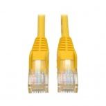 Tripp Lite Cable Patch Cat5e UTP Moldeado sin Enganches RJ-45 Macho - RJ-45 Macho,1.83 Metros, Amarillo