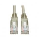 Tripp Lite Cable Patch Cat5e UTP Moldeado sin Enganches RJ-45 Macho - RJ-45 Macho, 4.27 Metros, Gris