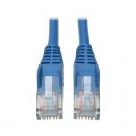 Tripp Lite Cable Patch Cat5e UTP Moldeado sin Enganches RJ-45 Macho - RJ-45 Macho, 4.57 Metros, Azul