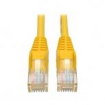 Tripp Lite Cable Patch Cat5e UTP Moldeado sin Enganches RJ-45 Macho - RJ-45 Macho, 7.62 Metros, Amarillo