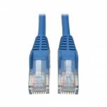 Tripp Lite Cable Patch Cat5e UTP Moldeado sin Enganches RJ-45 Macho - RJ-45 Macho, 10.68 Metros, Azul