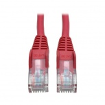 Tripp Lite Cable Patch Cat5e Moldeado sin Enganches RJ-45 Macho - RJ-45 Macho, 15.24 Metros, Rojo