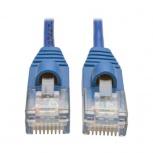 Tripp Lite Cable Patch Cat5 UTP Delgado Moldeado sin Enganches RJ-45 Macho - RJ-45 Macho, 61cm, Azul