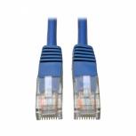 Tripp Lite Cable Patch Moldeado Cat5e UTP RJ-45 Macho - RJ-45 Macho 30cm, Azul