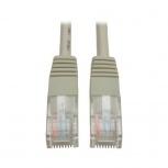 Tripp Lite Cable Patch Moldeado Cat5e UTP, RJ-45 Macho - RJ-45 Macho, 61cm, Gris