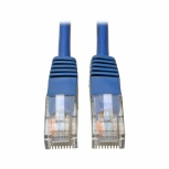Tripp Lite Cable Patch Cat5e UTP Moldeado, RJ-45 Macho - RJ-45 Macho, 350MHz, 91cm, Azul