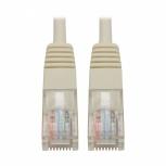 Tripp Lite Cable Patch Moldeado Cat5e UTP, RJ-45 Macho - RJ-45 Macho, 91cm, Blanco