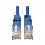 Tripp Litte Cable Patch Cat5e UTP Moldeado RJ-45 Macho - RJ-45 Macho, 1.52 Metros, Azul
