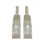 Tripp Lite Cable Patch Moldeado Cat5e UTP, RJ-45 Macho - RJ-45 Macho, 15.25 Metros, Gris